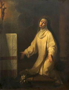 Saint Catherine of Siena Receiving the Stigmata by Francesco Vanni