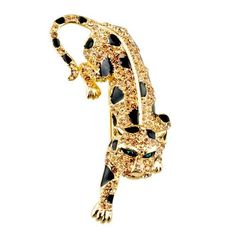 $46.99 Use a brooch to accessorize your favorite outfit or spice up apparel that just needs some extra kick. The Pugster November birthstone tiger Brooch is very stylish. This Pugster brooch is perfect to give a fun, artistic flair to whatever it is that you are wearing. Pugster created each brooch for people who love high quality handcrafted jewelry with a price that is sure to make you smile. This brooch fastens securely with a metal pin clasp...