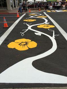 Creative Crosswalks Project Beautifies City of Lompoc - Santa Barbara Foundation