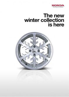 Honda: Snowflake | creative advertising