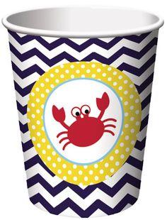 Ahoy Matey 9oz Cups 8pk