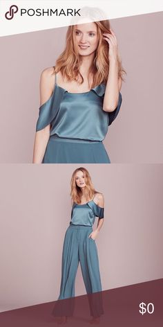 e15b0f524f9191 SALE Lauren Conrad Blue Mirage Cold Shoulder Top Attract attention in this  Lauren Conrad cold-Shoulder top from the