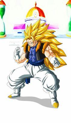 Gogetto by Majingokuable on DeviantArt Dragon Ball Gt, Dragon Ball Image, Geeks, Ssj3, Dbz Characters, Goku And Vegeta, Z Arts, Anime Comics, Deviantart