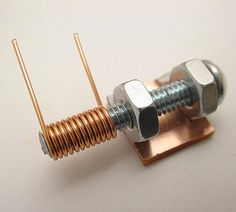 A Homemade Variable Tuning Capacitor for tuning in your FM stations...