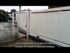 COME SI FA A FARE UN CANCELLO SCORREVOLE, AUTOMATICO E DI SICUREZZA? ECCO!  https://youtu.be/7UjR7uSc8Dg via @YouTube