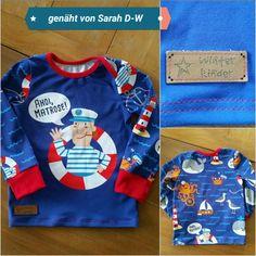 Schmales Shirt in Größe 98 ☆☆☆ Schnitt aus dem Babyleicht Buch von Pauline Dohmen ☆☆☆  genäht von Sarah D.-W.