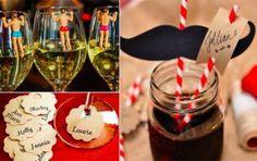 49 idées de génie pour différencier les verres à une soirée ou un repas