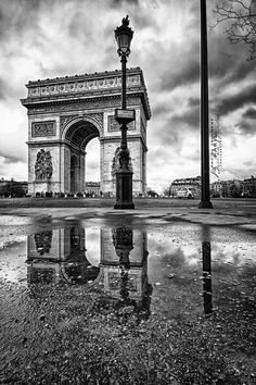 Arc de Triomphe #Paris #France #travel  Je t'aime means I love you in French ♥