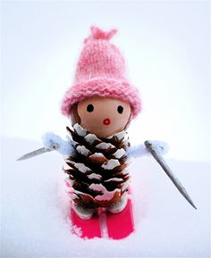 Pinecone doll, who would have thought?