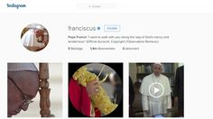Papa Francisco, Pope Francis, Along The Way, Instagram, 1, Social Media, Man Of God, Social Networks, Vatican