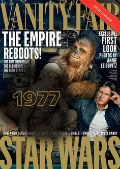 183 days until Star Wars: Watch Han and Chewie age four decades in two seconds. Looking good, boys!