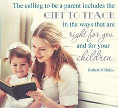 """""""Schools are not teaching moral character. But we can. Take advantage of teaching moments. Don't let them slip by. When an opportunity comes to share your thoughts about the gospel and the lessons of life, stop everything, sit down, and talk with your children."""" From #ElderHales' pinterest.com/pin/24066179230743960 inspiring #LDSconf facebook.com/223271487682878 message lds.org/general-conference/2016/10/come-follow-me-by-practicing-christian-love-and-service."""