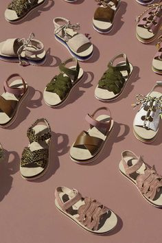 the new summer collection of Maison mangostan footwear for kids summer 2017