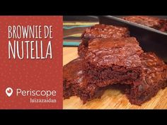 Brownie de Nutella [Periscope - luzaidan] - YouTube
