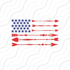 Arrow Flag SVG, Fourth Of July, American Flag SVG Cut table Design,svg,dxf,png Use With Silhouette Studio & Cricut_Instant Download  The Cut Files Include One (1).zip File With:  - 1 SVG File - (For Silhouettes Studio Designer, Cricut Design Space, Sure Cut A Lot,etc.)  - 1 DXF File - (Silhouette Studio Basic)  - 1 PNG File - (300 dpi High Resolution,Transparent Background)