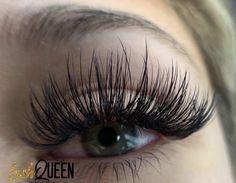 Wispy Lashes, Long Lashes, Longer Eyelashes, Fake Eyelashes, Eyelash Perm, Eyelash Extensions Styles, Makeup Goals, Makeup Style, Beautiful Eyelashes