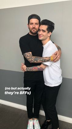 Dillon Francis and Brendon Urie Emo Bands, Music Bands, Dillon Francis, Brendon Urie, Panic! At The Disco, Black Veil Brides, Fall Out Boy, My Chemical Romance, Twenty One Pilots