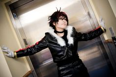 Shadow the Hedgehog cosplay, NICE... now if we could only find a DUDE who can get it right!