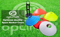 Optimum Set of 50 Multi Sports Space Marker Cones & Carry Stand, Multicolored Rugby, Free Delivery, Carry On, Markers, Sports, Products, Hs Sports, Sharpies, Hand Luggage