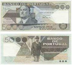 5.000 Escudos, 1981
