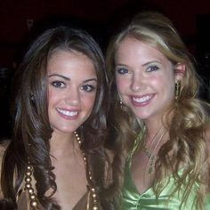 Ashley Benson and Lucy Hale-youngings