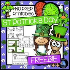 St. Patrick\'s Day FREEBIE