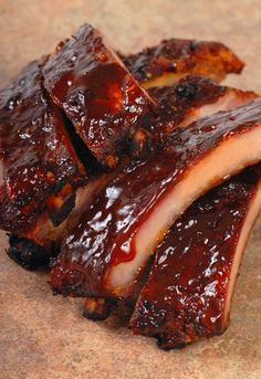 Korean Ribs in the Slow Cooker