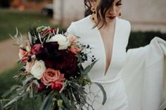 You'll Love the Stylish Moody Color Palette in This Stones of the Yarra Valley Wedding