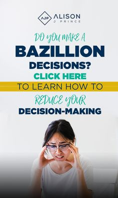 The more decisions you make, the less effective you get at making them. That's why when 5 o'clock rolls around you get that dinner question, you want to curl up in a ball and cry. You've spent your whole day making a bazillion decisions and now your brain is fried. Click Here to get 3 tips to help you stop frying your brain!#alisonjprince #smallbusinessowner #ecommerce #entrepreneur #becauseicanlife #createchange #decisionfatigue #inspire #onlinebusiness #bethechange #momboss Decision Fatigue, Your Brain, Decision Making, Ecommerce, Cry, Online Business, You Got This, Entrepreneur, Rolls