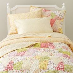 "bedding for my little's ""big girl"" room - Land of Nod"