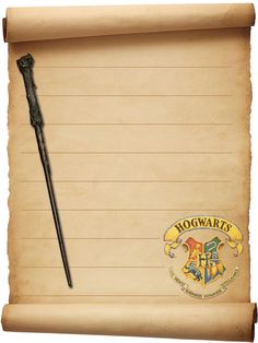 Harry Potter and Halloween Stationary