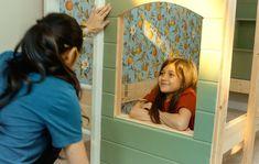 DIY bunk beds for kids Bunk Beds Built In, Kids Bunk Beds, Coordinating Paint Colors, 84 Lumber, Window Casing, Puck Lights, Bed Ideas, Cladding