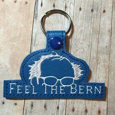 """Feel the Bern"" - 2016 Campaign Slogan Key Fob"