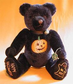 halloween teddy bears