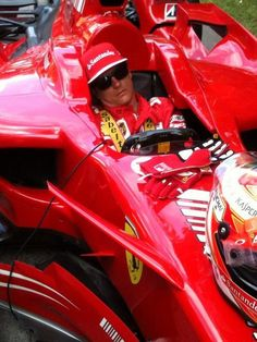 kimi raikkonen pre race preparation