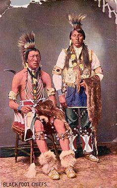 Blackfoot - circa 1890
