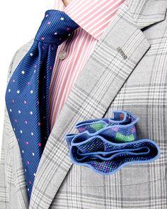 Brioni | Grey and Tan Sportcoat | Apparel | Men's