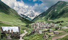 Polish-based Rafal Nycz, 30, went on a two-week bike ride with his girlfriend through the stunning countryside of Georgia, eventually reaching the highest inhabited village in Europe - Ushguli.