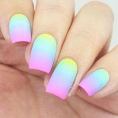 Easter nails are the cutest ones among the rest of the spring ideas. There are so many different designs that are popular for Easter Sunday. We have covered the best nail art in this article for your inspiration! Easter Nail Designs, Cute Acrylic Nail Designs, Nail Art Designs, Nails Design, Glow Nails, Fun Nails, Pretty Nails, Summer Acrylic Nails, Best Acrylic Nails
