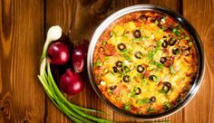 Our Texas Sweet Potato Casserole is topped with melted cheese, slices of black olives, and a sprinkling of green onions. Sweet Potato Casserole, Casserole Dishes, New Recipes, Dinner Recipes, Dinner This Week, Melted Cheese, Cheddar Cheese, Cheeseburger Chowder, Cheddar