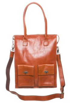 Royal RepubliQ - VICTORIA - Tote bag - brown. with laptop compartment