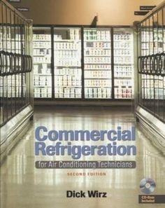 Commercial Refrigeration for Air Conditioning Technicians, White