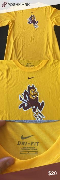 Nike ASU Sun Devil Dri-Fit Tee Nike ASU Sun Devil Dri-Fit Tee Nike Shirts Tees - Short Sleeve