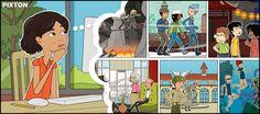 Pixton, aprender a hacer un Cómic! A través de este recurso podremos crear facilmente un cómic o storyboard. Great Website Design, Simple Web Design, Web Design Tips, Comic Book Characters, Comic Character, Narrativa Digital, Guided Reading Lesson Plans, Storyboard Creator, Comics Maker