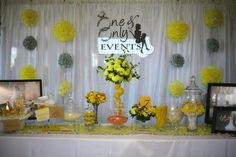 Simple and versatile backdrop for any event.