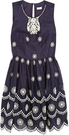 Collette Dinnigan Collette by Daisy Dots broderie anglaise voile dress on shopstyle.co.uk