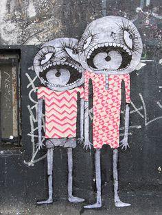 The Wayward Voyage: Berlin Street Art: Paste Ups