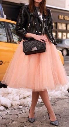 Tully skirt