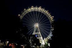 ferris wheel in Prater park in Vienna