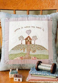 cottage cushion pdf pattern